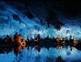 Die Schilfrohrfloetenhoehle ist ca. 600.000 Jahre alt.